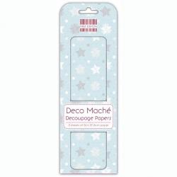 First Edition FSC Deco Mache Frozen Stars