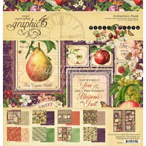 Graphic 45 Fruit & Flora 12x12 Inch Collection Pack