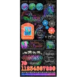 Graphic 45 Kaleidoscope Stickers