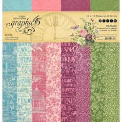 Graphic 45 Bloom Patterns & Solid