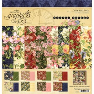 Graphic 45 Floral Shoppe 12x12 Inch Collection Pack
