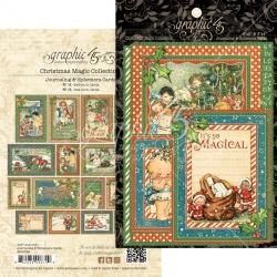 Graphic 45 Christmas Magic Ephemera Cards