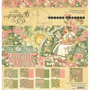 Graphic 45 Garden Goddess 12x12 Inch Collection Pack