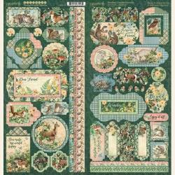 Graphic 45 Woodland Friends stickers