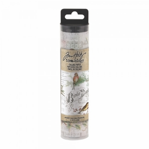 Idea-ology Tim Holtz Collage Paper Aviary (6yards)