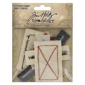 Idea-ology Tim Holtz Stitched Scraps