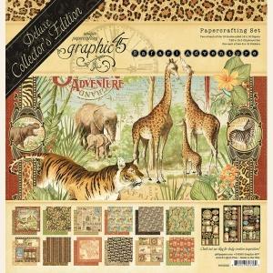 Graphic 45 - Safari Adventure DeLuxe Collector's Edition