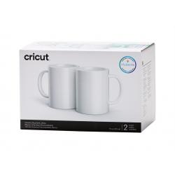 Cricut mug white 350ml (2 pieces) (2007821)