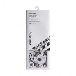 Cricut Joy Deluxe Paper Black & White Botanicals