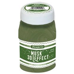 Stamperia 3D Musk Effect Dark Green (100ml)