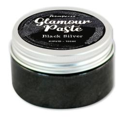 Stamperia Black Silver Glamour Paste 100ml