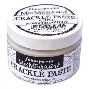 Stamperia Crackle Paste 150ml White