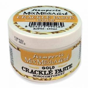Stamperia Crackle Paste150 ml Gold