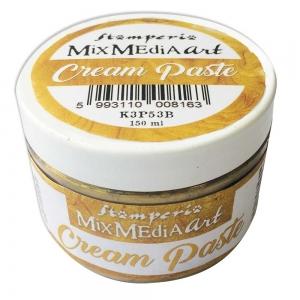 Stamperia Cream Paste Metallic Gold (150ml)