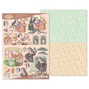 Marij Rahder Happy Bells 3D Die Cut Sheet