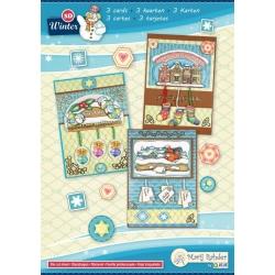 Marij Rahder Winter 1 3D Cards A5 (3 cards)