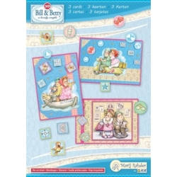 Marij Rahder Bill & Betty A5 Complete Card Set
