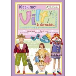 Marij Rahder Vilten Poppenboek