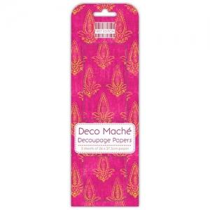 First Edition FSC Deco Mache Hot Pink Motif