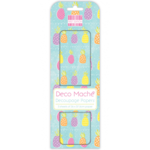 First Edition Deco Mache Pineapple Brights
