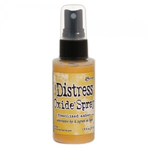 Ranger Distress Oxide Spray Fossilized Amber