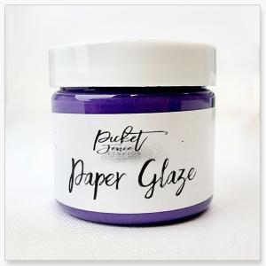 Picket Fence Studios Paper Glaze Agapanthus Purple