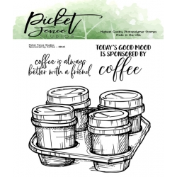 Picket Fence Studios Sponsored by Coffee Clear Stamps
