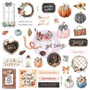 Prima Marketing Pumpkin & Spice Ephemera