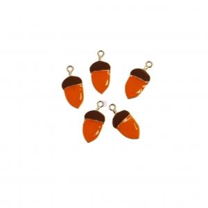 Prima Marketing Pumpkin & Spice Enamel Charms