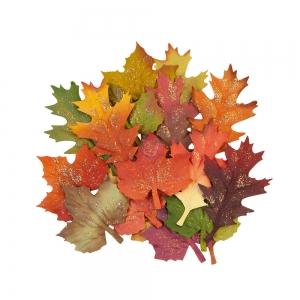 Prima Marketing Pumpkin & Spice Flowers Fall Leaves