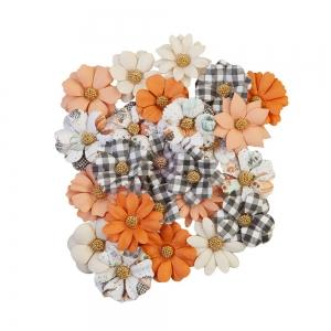 Prima Marketing Pumpkin & Spice Flowers Warm Mittens