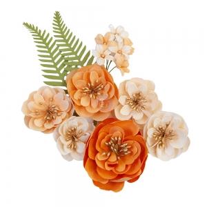Prima Marketing Pumpkin & Spice Flowers Together