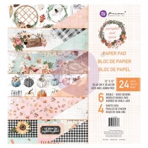 Prima Marketing Pumpkin & Spice 12x12 Inch Paper Pad