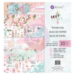 Prima Marketing Surfboard 12x12 Inch Paper Pad