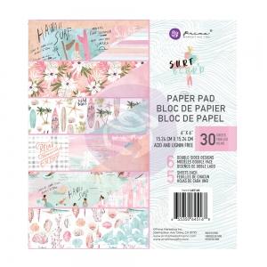 Prima Marketing Surfboard 6x6 Inch Paper Pad
