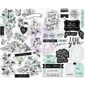 Prima Marketing Flirty Fleur Sticker Sheets