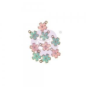 Prima Marketing Sugar Cookie Christmas Enamel Charms Flower