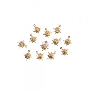 Prima Marketing Sugar Cookie Christmas Metal Charms Snowflakes