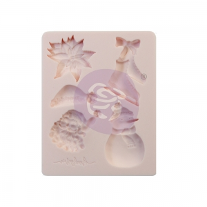 Prima Marketing Sugar Cookie Christmas 3.5 x 4.5 Inch Mould