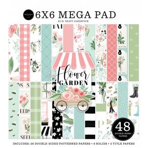 Carta Bella Flower Garden 6x6 Inch Cardmakers Mega Pad