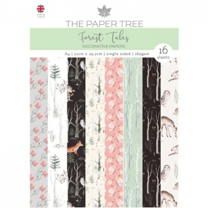 Paper Tree • Forest tales Backing Papers