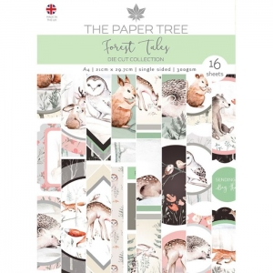 Paper Tree • Forest tales Die Cut sheets