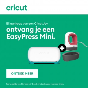 Cricut Joy Machine met gratis Easy Press