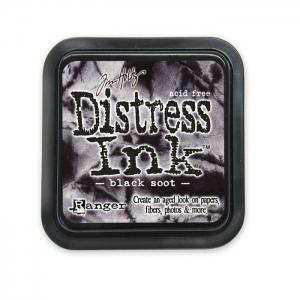 Ranger • Distress ink pad Black soot