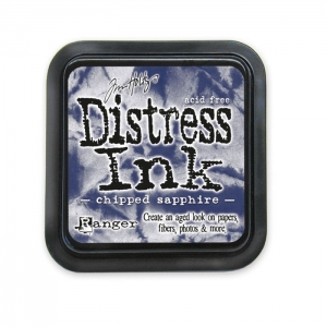 Ranger • Distress ink pad Chipped sapphire