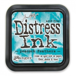 Ranger • Distress ink pad Peacock feathers