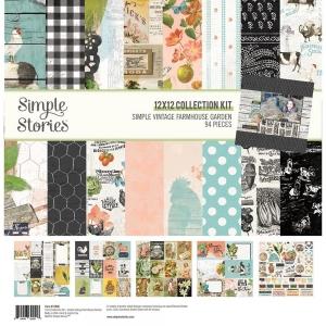 Simple Stories Simple Vintage Farmhouse Garden Collection Kit