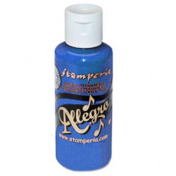 Stamperia Allegro Paint 60ml Blue