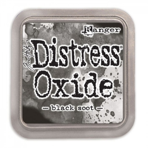 Ranger • Distress oxide ink pad Black soot