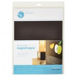Silhouette magneet papier